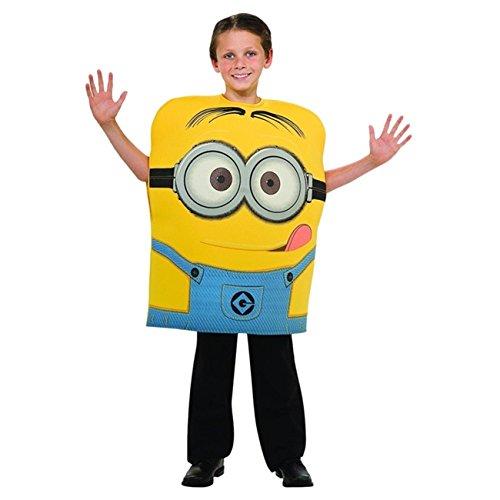 Kinder Minion Dave Schaumstoff Kostüm 5-6Jahre