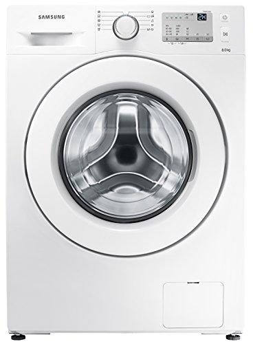 Samsung WW80J3473KWEG Waschmaschine / UpM 8 kg / weiß / Frontlader / A 1400