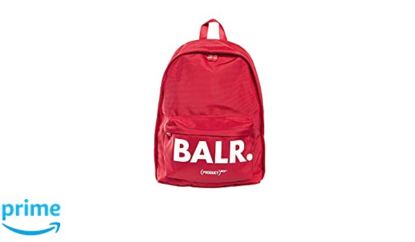 BALR. (Product) RED U-Series Backpack Red  Amazon.de  Koffer ... 7b8794a110a4a