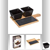 SET APERITIF 4 PCS BLACK
