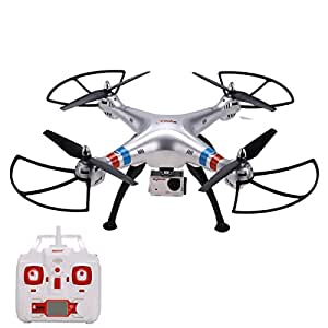 Syma X8G 2.4g 4ch 6 Axis Headless Gyro RTF RC Drone Quadcopter With 8MP 1080P HD Camera