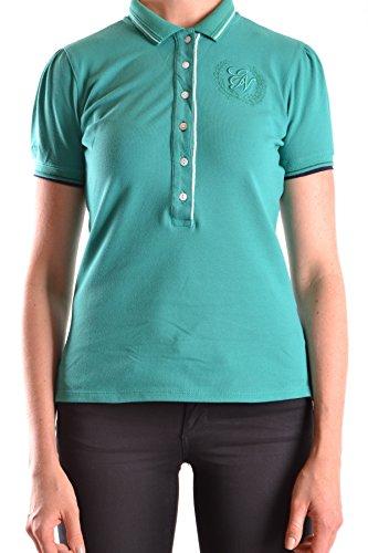 Etiqueta Negra Damen Mcbi118072o Grün Baumwolle Poloshirt