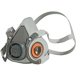 3M GmbH XA-0077-0265-8 - Mascarilla de seguridad, tamaño M, Certificado de seguridad EN