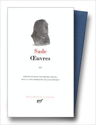 Sade Oeuvres Tome 3 [Pdf/ePub] eBook