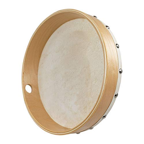 Percussion Plus PP046 10-Inch Wooden Frame Drum