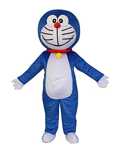 on Robot Cat Erwachsene Halloween Maskottchen Kostüm Kleid Outfit (Maskottchen Kostüm Fancy Kleid)