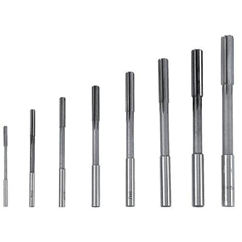 8 Stücke HSS H8 Chucking Reamer Milling Cutter Reibahle Fräser mit Zylinderschaft 3/4/5/6/7/8/9 /10mm