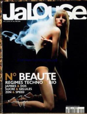 JALOUSE [No 40] du 01/05/2001 - BEAUTE - REGIMES TECHNO ET BIO - JAMBES ET DOS - SUCRE ET GELULES - ZEN ET SPEED.