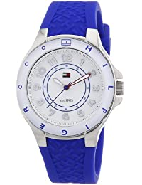 Tommy Hilfiger Watches Damen-Armbanduhr XS Analog Quarz Silikon 1781273