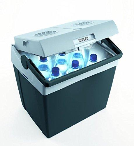 - WAECO MOBICOOL T 26 - Box frigorifero 25 litri - - Box frigorifero termoelettrico 12 V + DC 230 V funzionamento AC - le vendite di Holly prodotti STABIELO - Holly-parasole - Cavo di collegamento 12/24 V vedi ASIN: B01BPETQG8-