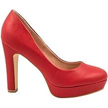 Elara – Modernos zapatos de tacón de aguja con plataforma  2e1af333d701