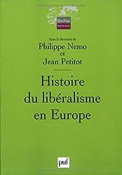 Histoire du libéralisme en Europe