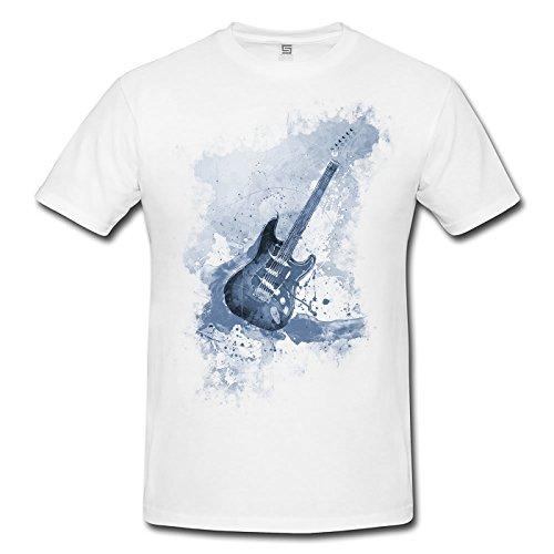 Shirt , Stylisch aus Paul Sinus Aquarell Cyan ()