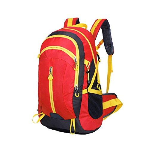 Yy.f Kit Outdoor Alpinismo Trekking Borse A Tracolla Impermeabile Traspirante Tempo Libero Viaggi Studente Zaino Multifunzionale. Multicolore Blue