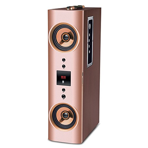Iball Karaoke Booster Tower 2.1 Karaoke Speaker with Wireless Microphone and Remote Control