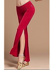 Damas pantalones, danza del vientre y yoga de la danza , l , red