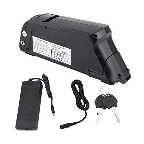 Holaroses Hochleistungs-E-Bike Akku 48V 10Ah 480W Pedelec Akku Set Li-Ion E-Bike Akku Umrüstkit Durable Power Tool mit Ladegerät