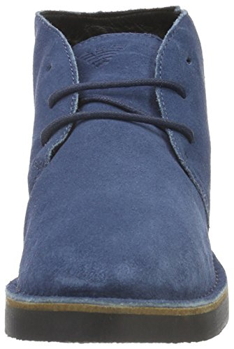 Armani Jeans 935056cc510, Derby homme Blau (BLUE GRAPHITE 09936)