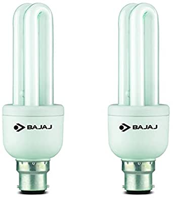 Bajaj Retrofit Miniz T3 Linear B22 11-Watt CFL (Pack of 2 and Cool Day Light)