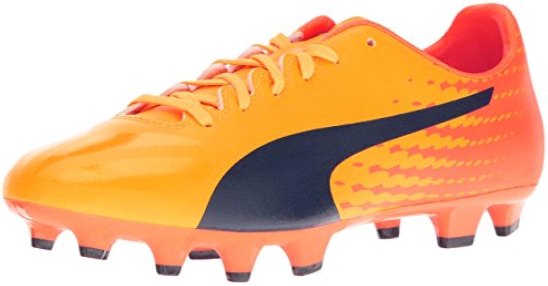 Scarpa da da da calcio per uomo Evospeed 17.4 FG, pesce pagliaccio arancione giallo pisello, 10 m US | A Basso Costo  a04907