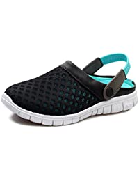 CTOOO Unisex Clogs Pantoletten Sandal Herren Dual-Use-Atmungsaktive Ultraleichte 0G7jFRV