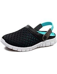 CTOOO Unisex Clogs Pantoletten Sandal Herren Dual-Use-Atmungsaktive Ultraleichte