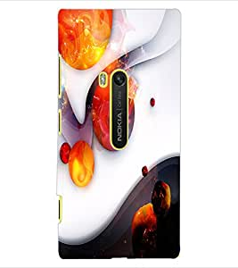 ColourCraft Abstract Image Design Back Case Cover for NOKIA LUMIA 920