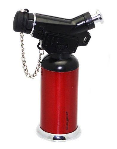 exklusives-feuerzeug-rot-butane-torch-brenner-gasflamme-originelles-geschenk-farbenauswahl-schwarz-r