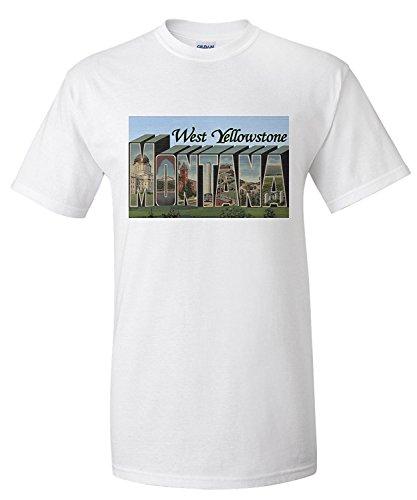 west-yellowstone-montana-large-letter-scenes-premium-t-shirt