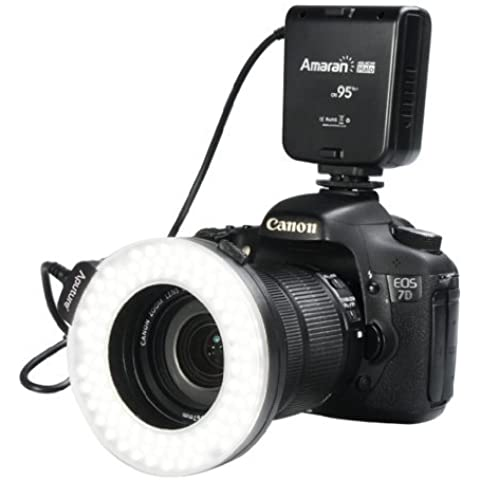 Aputure AHL-HC100 Anular LED de flash para Canon