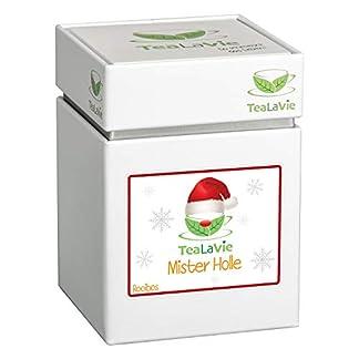 TeaLaVie-Wintertee-Mister-Holle-tropische-Kokosnuss-mit-Granatapfel-und-Marzipan-Weihnachtstee-loser-Rooibos-Tee-in-edler-Teedose-fr-Teeliebhaber-auch-als-Geschenk-100g-Rooibostee