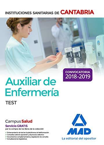 Auxiliar de Enfermería en las Instituciones Sanitarias de la Comunidad Autónoma de Cantabria Test