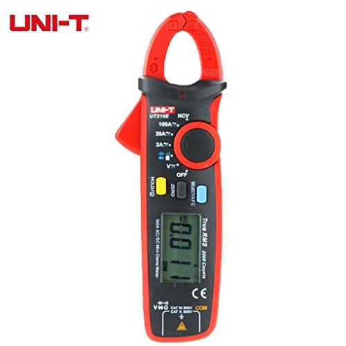Rekkles Uni-t Kneifzange Clamp Meter UT210E Mini UT210D Digital-Multimeter AC-DC-Amperemeter Kapazität Tester Mini Clamp Meter