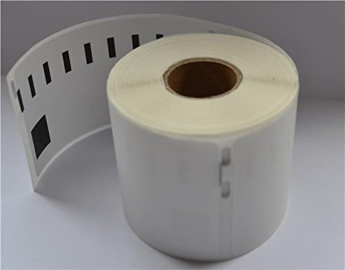 Wrapit-Packit Dymo / Seiko Premium Compatible Labels- Color: white - Labels: 11356 89mm x 41mm - Amount: 100 rolls