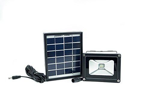 Faro led 2835 smd con pannello solare per illuminazione esterna per