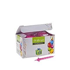 Idea Regalo - Cereria di Giorgio - Candeline di Compleanno a Spirale con Supporto, 54180_10