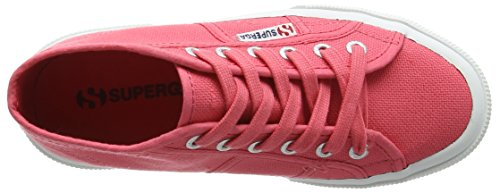 Superga - 2754Jcot Classic, Sneaker alte Unisex – Bambini Pink (T33 Paradise Pink)