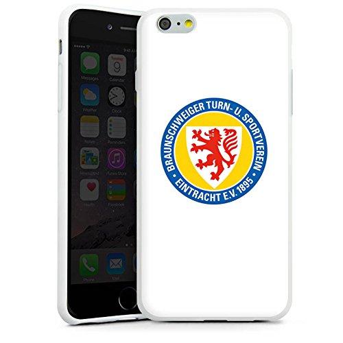Apple iPhone X Silikon Hülle Case Schutzhülle Eintracht Braunschweig Fanartikel BTSV Fußball Silikon Case weiß