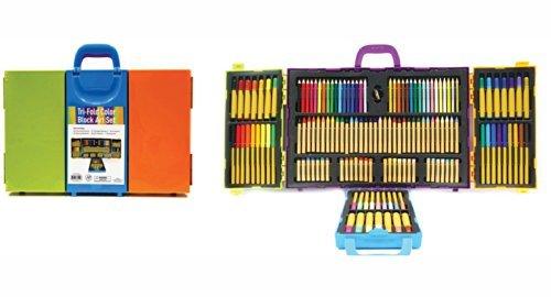 tri-fold-color-block-art-set-by-onex