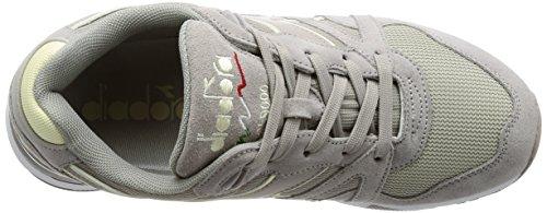 Diadora N9000 III, Sneaker a Collo Basso Uomo Grigio (Paloma/Antique White)