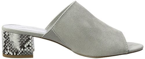 Tamaris 27204, Sandales Bout Ouvert Femme Gris (Grey Comb 221)