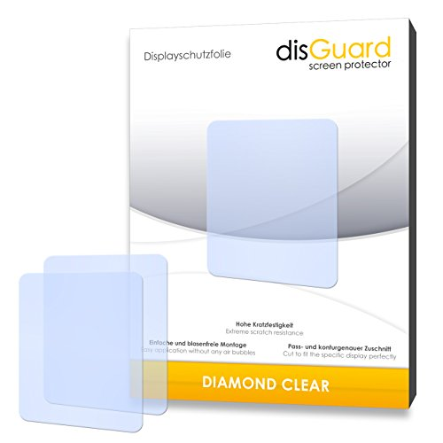 disGuard Displayschutzfolie für Creative ZEN Style M100/M-100 (Made in Germany)