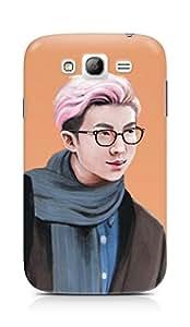 Amez designer printed 3d premium high quality back case cover for Samsung Grand Neo Plus (Handsome Man)