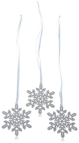 Swarovski Figurine Crystal Pixel Snowflake Ornament (3er Set) 7,5 x 7,5 cm 1135179 (Deko-Artikel)