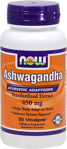 Ashwagandha, 450 mg, 90 Veggie Caps - Now Foods
