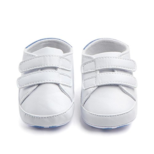 Chaussures Bébé,Xinan Chaussures Garçon Fille Cuir Souple Chaussures Antidérapant 3 Couleurs
