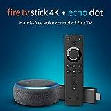 Fire TV Stick 4K UHD with All-New Alexa Voice Remote + Echo Dot (3rd Gen) Bild 1