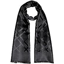 30b3ee63776a Lorenzo Cana Foulard de 100% soie pour l`homme – écharpe style dandy avec