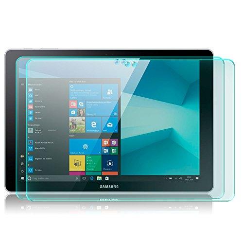 zanasta 2X Bildschirmschutz Glas kompatibel mit Samsung Galaxy Book 10.6