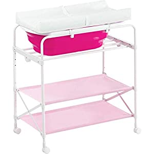Baby Changing Table Foldable, Folding Changing Diaper Baby Massage Table 0-3 Years Old Nursing Station For The Bedroom Multifunction   3